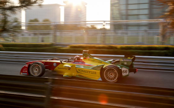 Abt penalised for unsafe release, loses points finish