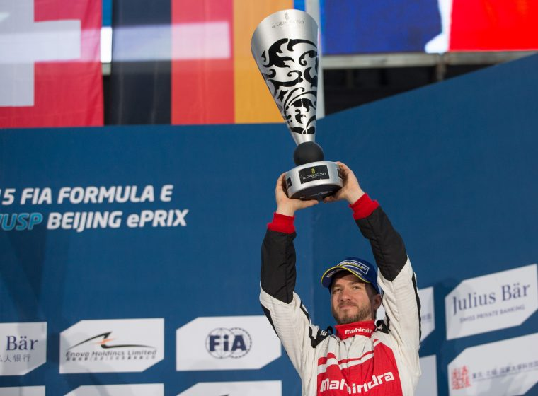 Mahindra surprise in Beijing with first podium