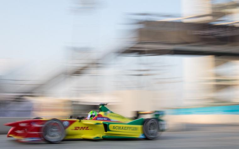 Di Grassi fastest in Second Practice Session