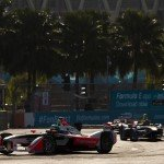 Heidfeld suffered a torn ligament in his hand during the race which forced him to miss the next ePrix