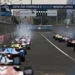 The lights go out on the second season of the Formula E championship