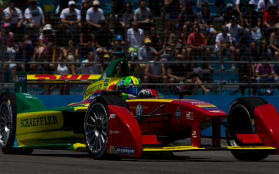 Third successive podium for di Grassi in Uruguay