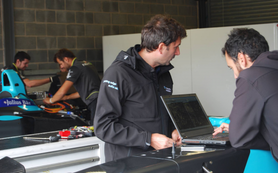 Code is Key in Formula E