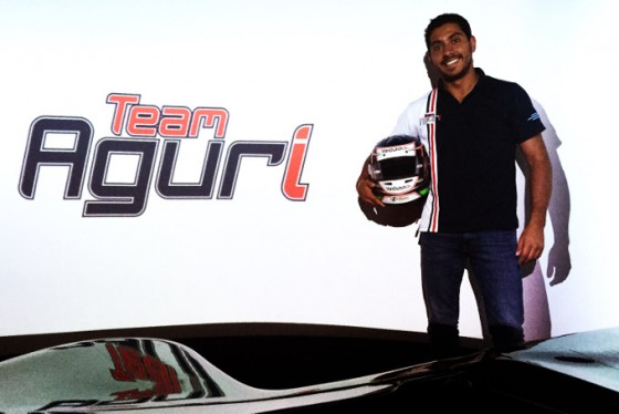 Duran returns to series with Team Aguri