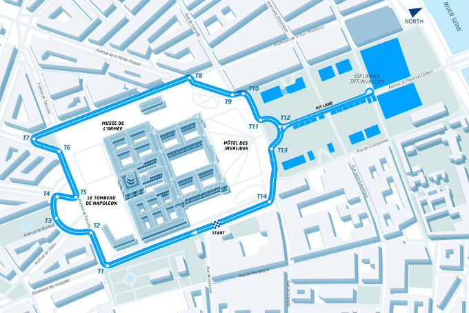 Getting to know the Paris ePrix track