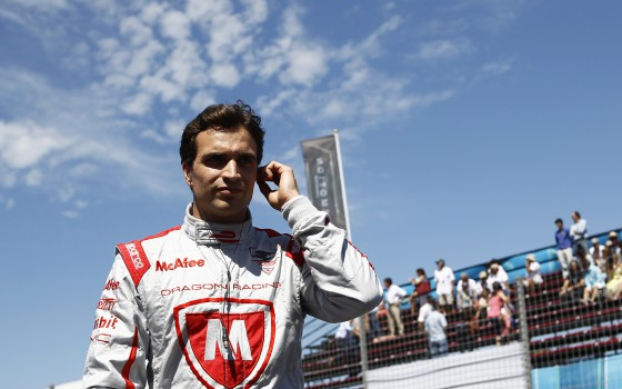 d'Ambrosio takes unexpected poleposition