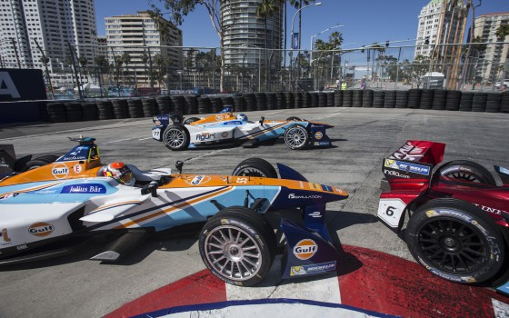 Pace and penalties for Aguri at Long Beach