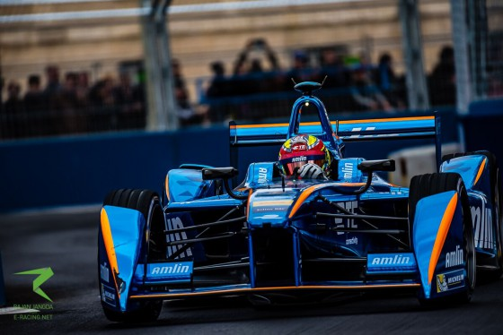 Closed Circuit: Amlin Andretti in Paris
