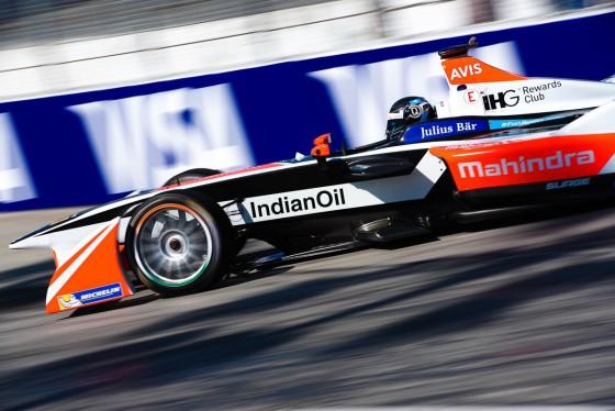 Mahindra enjoy best result in Formula E
