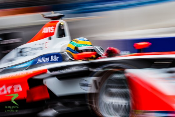 On the road to London: Bruno Senna