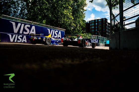 Frustration for Buemi in first London race