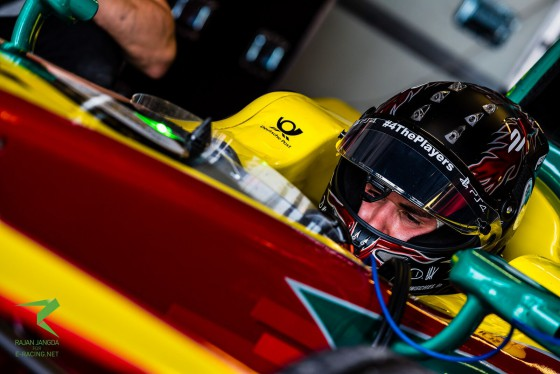 Abt fastest in afternoon; Vergne keeps lap record