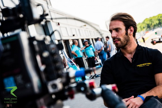 Vergne fastest on drying track
