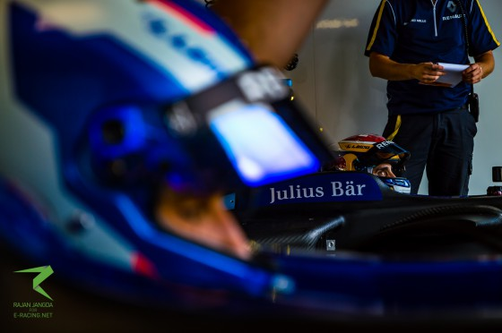 Renault e.dams 1-2 in final test session