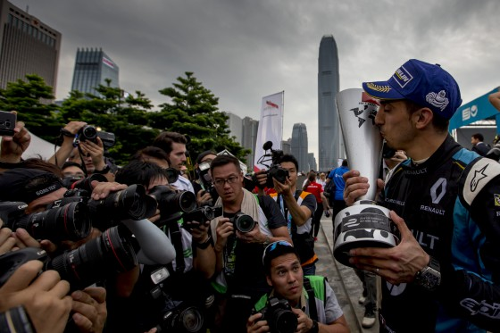 Closed Circuit: Renault e.dams in Hong Kong
