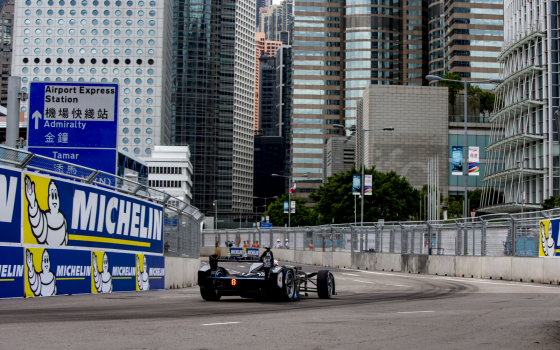 Closed Circuit: Venturi Formula E Team in Hong Kong
