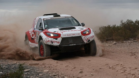 Electric vehicle completes gruelling Dakar Rally