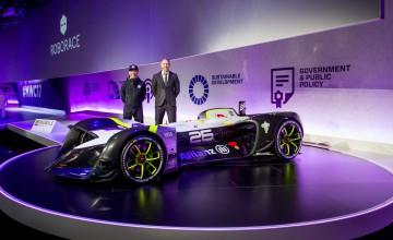 Roborace unveils 'Robocar' for first autonomous season