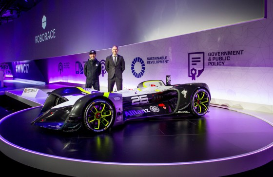 Roborace unveils 'Robocar' for first autonomous season