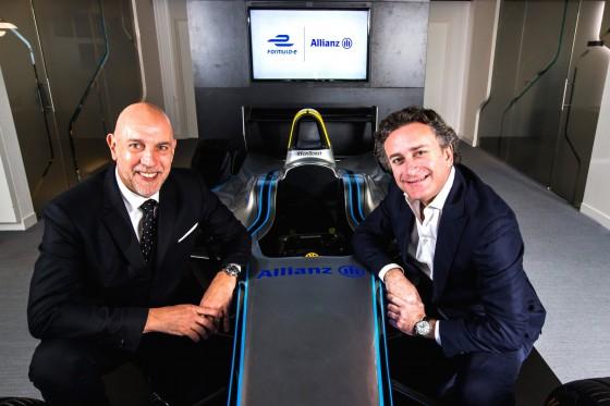 Allianz becomes official partner of Formula E