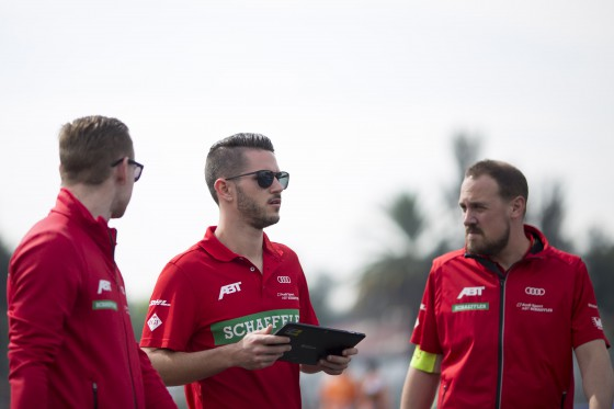 Abt stripped of pole position