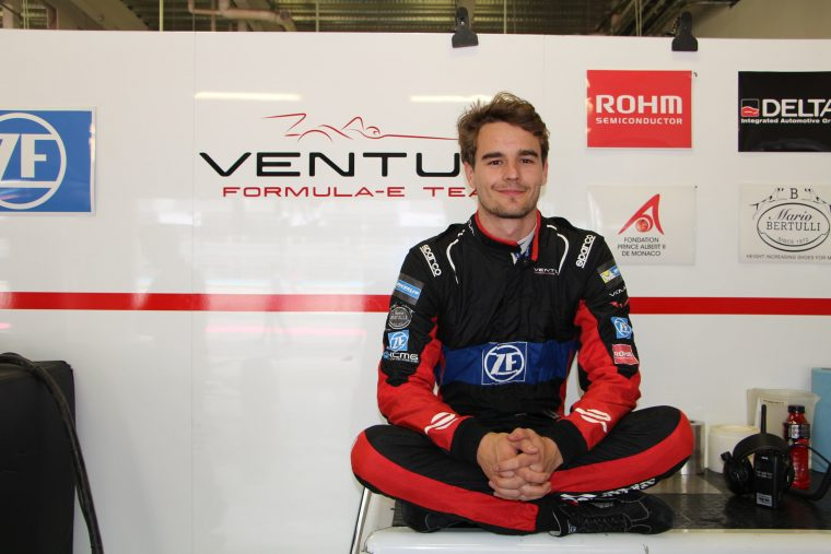 Dillmann to make race debut with Venturi