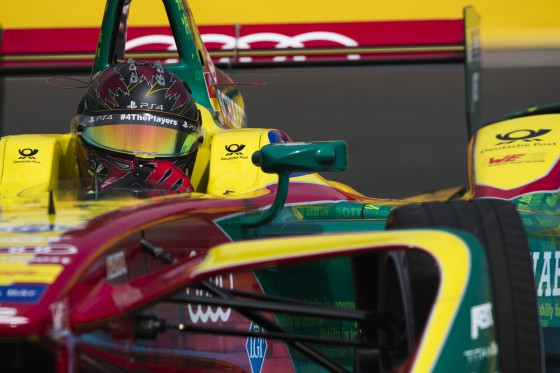 Abt takes pole in topsy-turvy qualifying