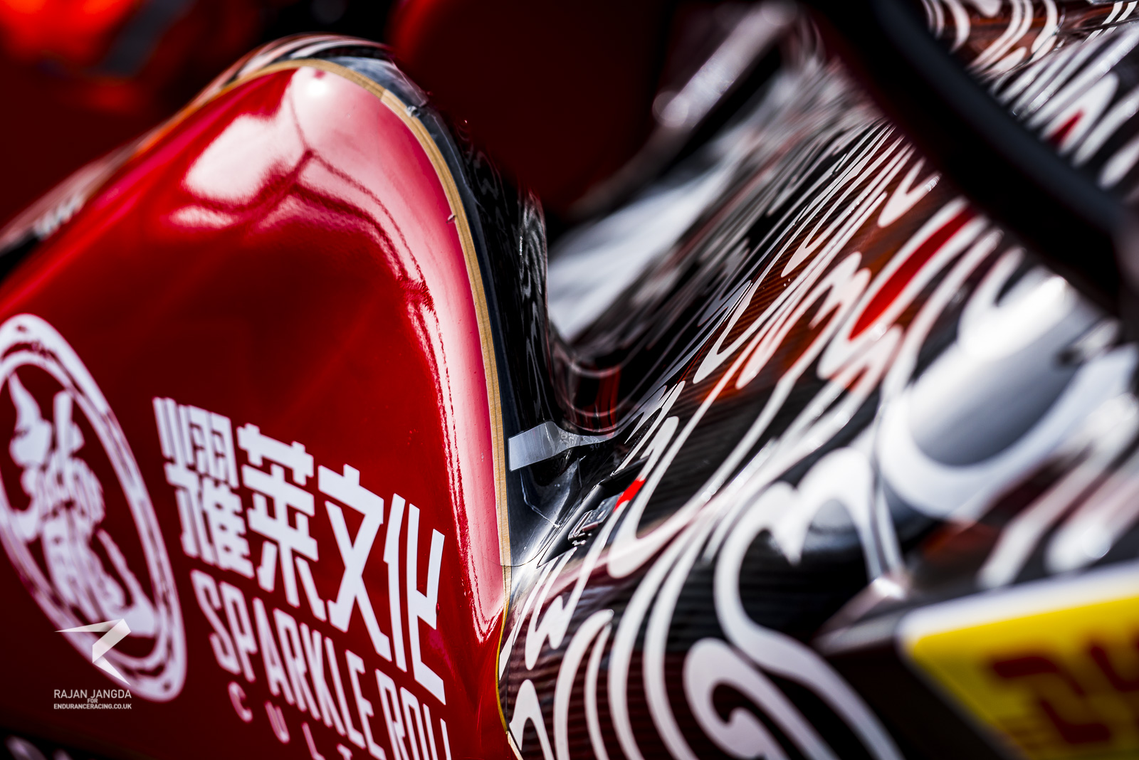 The most eye-catching detail of the Oreca