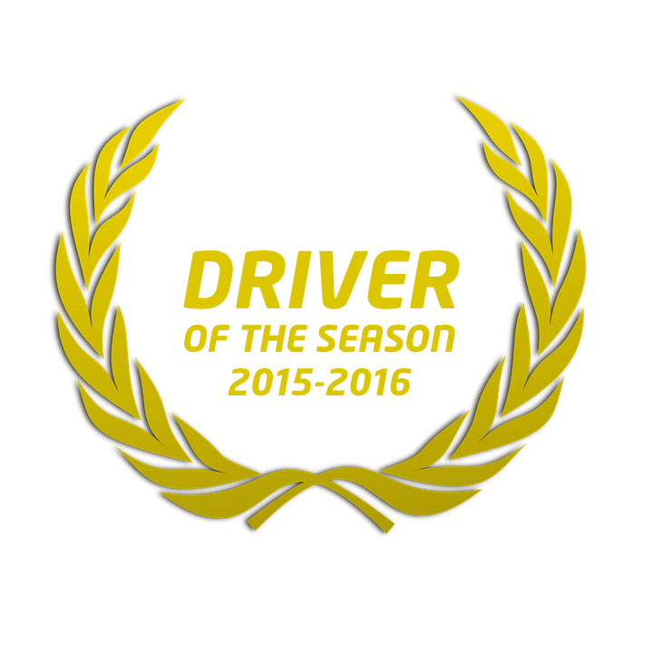 ERNAwards_Driver of the season 15-16
