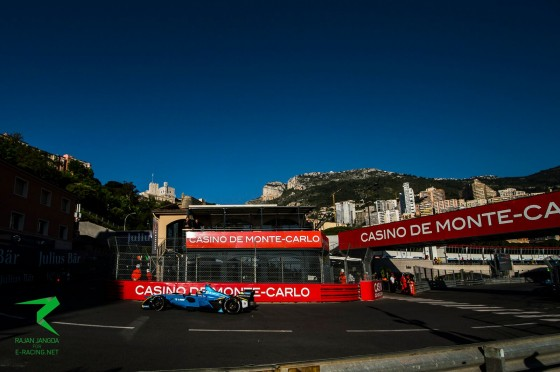 Buemi fastest again in Monaco practice