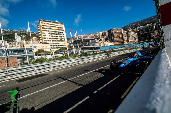 Buemi keeps it clean to secure pole in Monaco