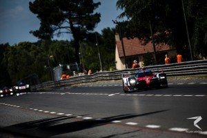 There was heartbreak for the #7 Toyota Gazoo Racing after leading from pole