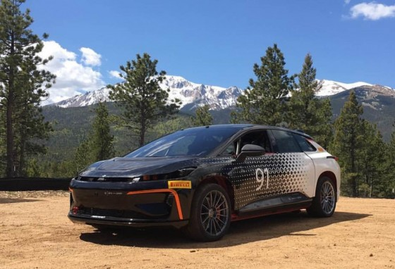 Faraday Future to test the FF 91 in Pikes Peak