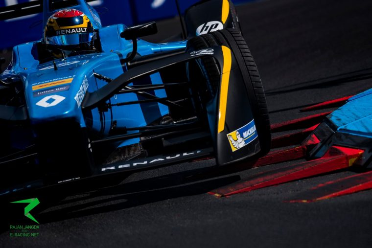 Buemi shows intent in opening practice