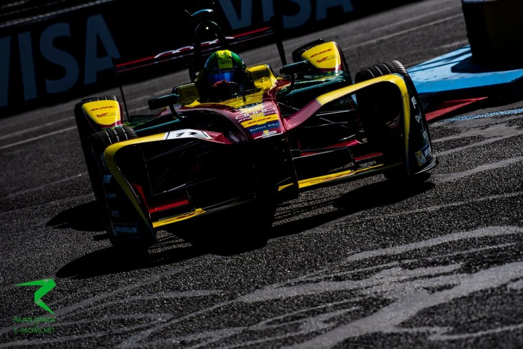 di Grassi pips Lopez to pole in Berlin