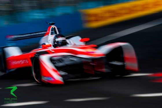 Heidfeld heads Mahindra 1-2 in second practice