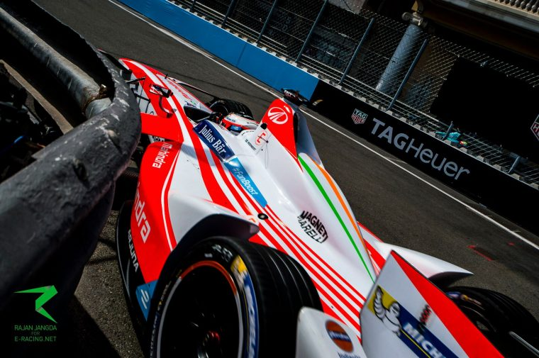 Rosenqvist surges to pole position for race two