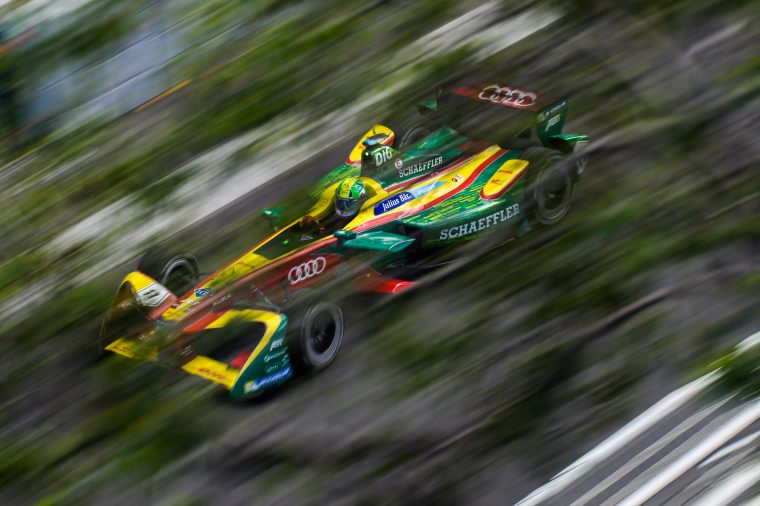 di Grassi lays down gauntlet in first practice