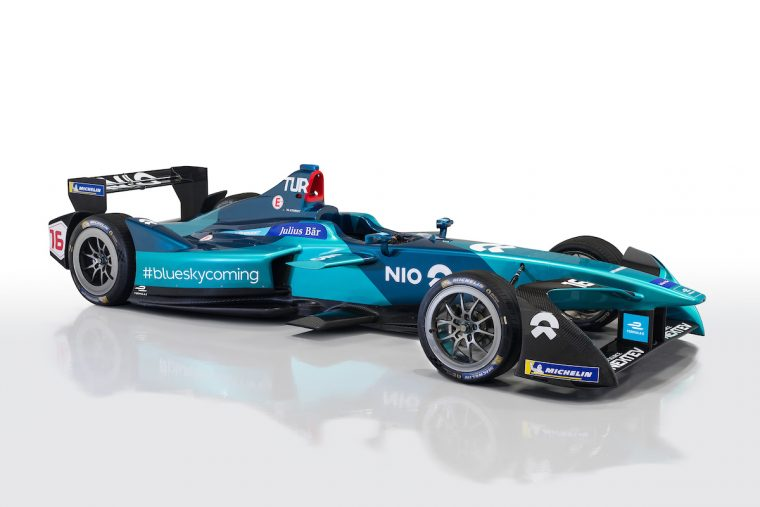 Filippi joins Turvey at NIO