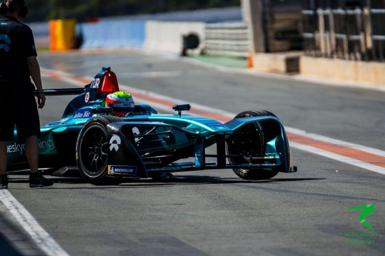 Turvey tops final morning of testing as Vergne shunts