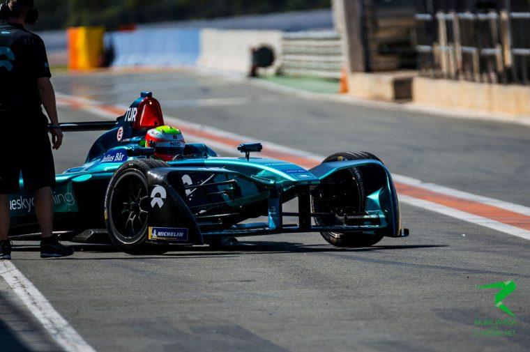 Turvey tops final morning of testing as Vergne shunts