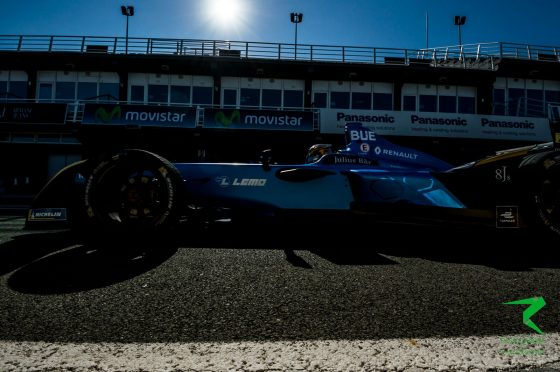 Buemi leads Rosenqvist on second morning