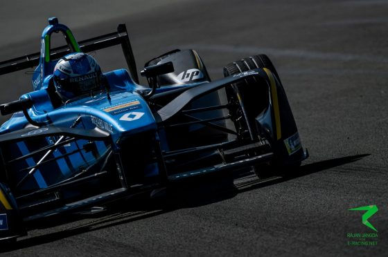 Renault e.dams satisfied with opening day