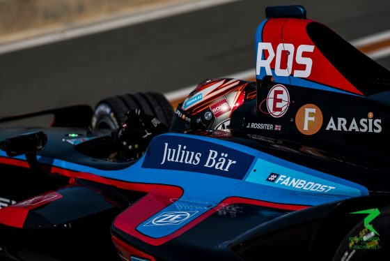 "Rossiter ""borrowed a helmet from Duval"" for first FE drive"