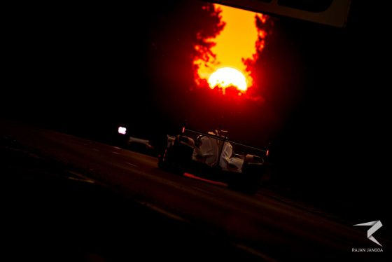 Formula E drivers see out WEC season in style