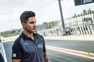 Mitch Evans Jaguar