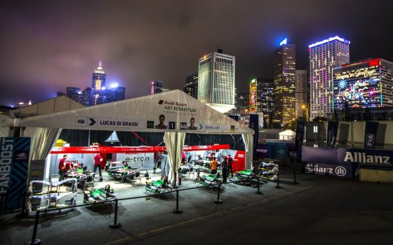 Closed Circuit: Audi Sport ABT Schaeffler in Hong Kong