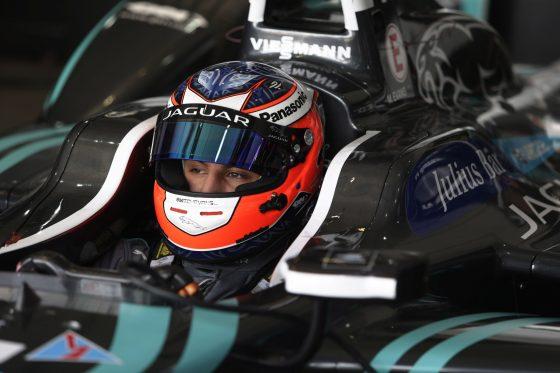 "Evans takes Jaguar's first FE podium in ""bittersweet"" twist"