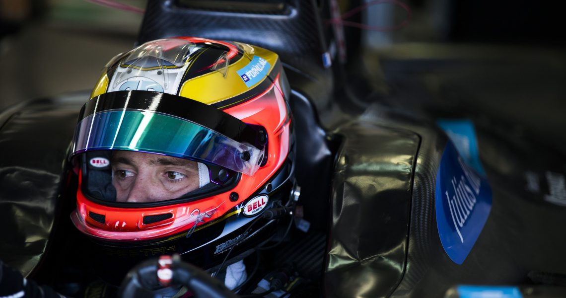 Vergne heads interrupted second practice session