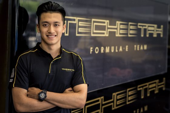 Techeetah sign Zhou to development role